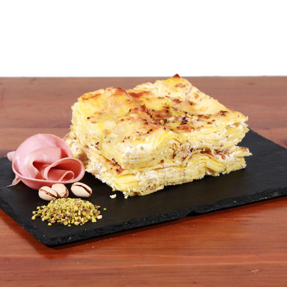 Gnessi Teresa - Lasagna Provola e Speck 4 porz